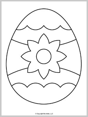 Large Easter Egg Template (4)