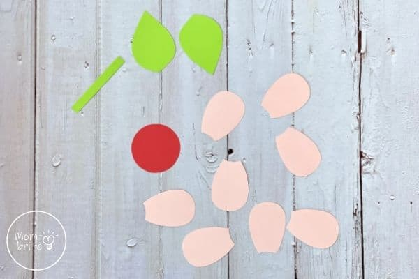 Mother's Day Flower Craft Template Patterns