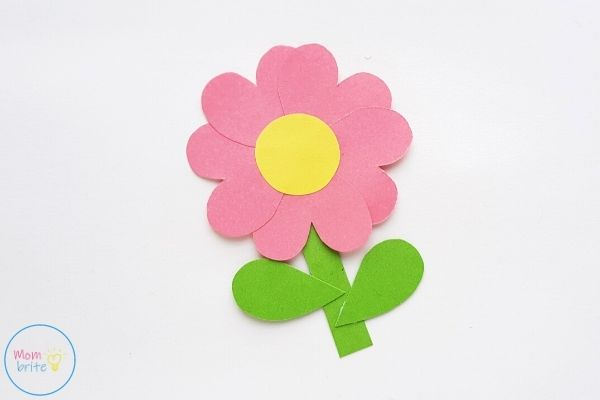 Mother's Day Pop Up Card Finish Flower