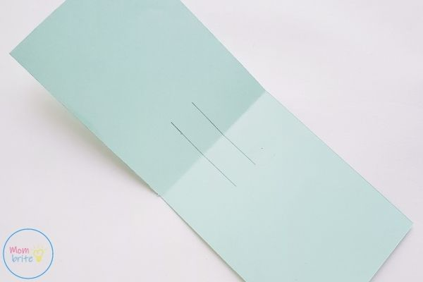 Pop Up Mother's Day Card Cut Slits