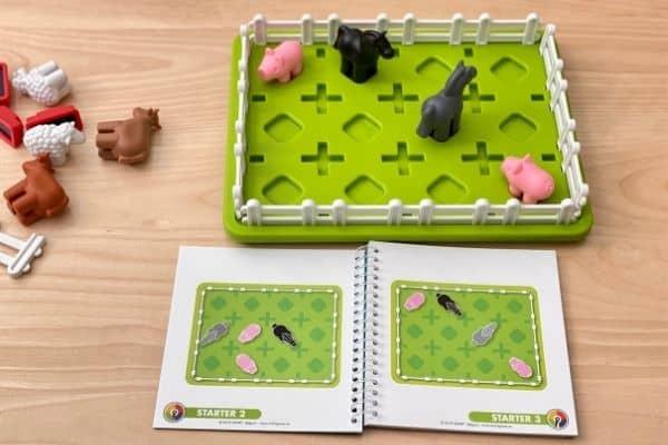 SmartGames Smart Farmer Beginner Challenge Game Setup