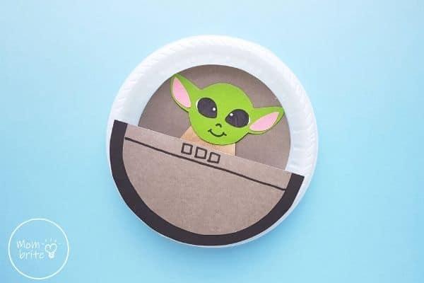 Star Wars Baby Yoda Craft