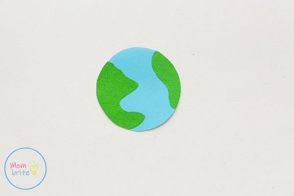Sun Earth Moon Paper Craft Assemble Earth