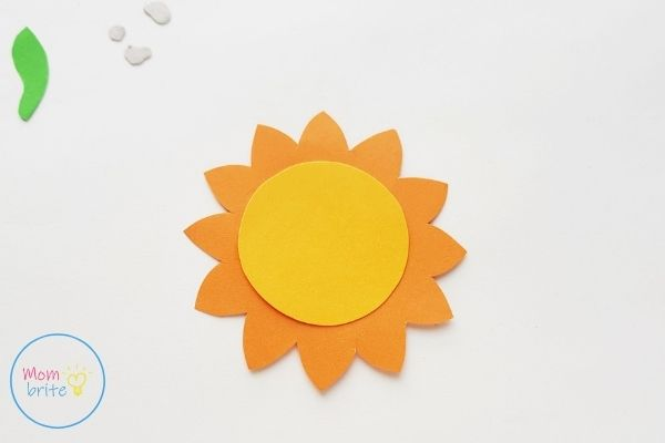 Sun Earth Moon Paper Craft Assemble Sun