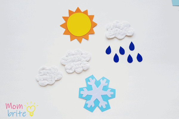 four seasons of weather