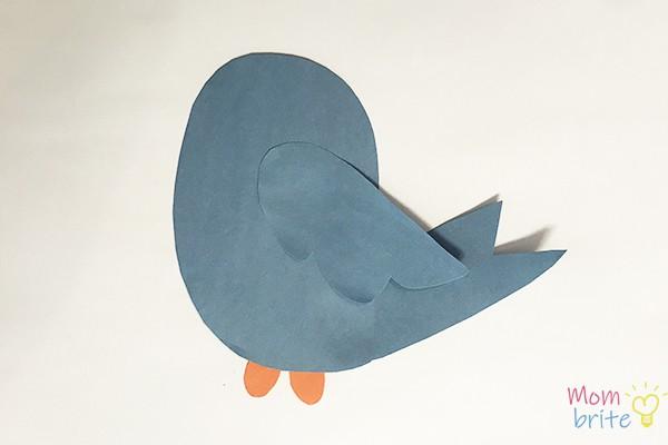 Bird Craft Glue Feet