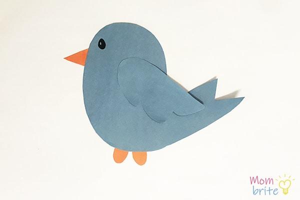 Bird Craft Draw Eye