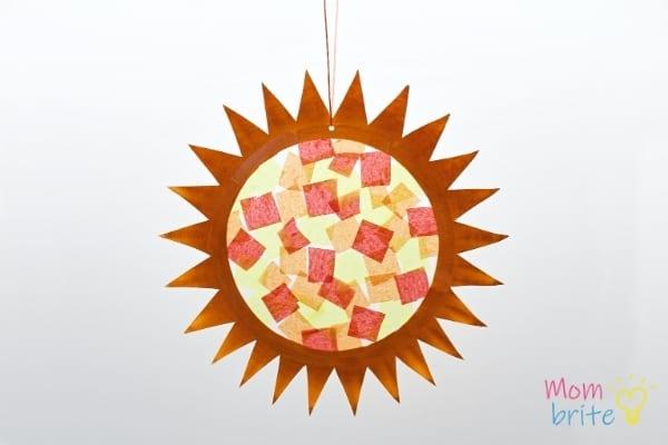 Featured Finished Sun Suncatcher