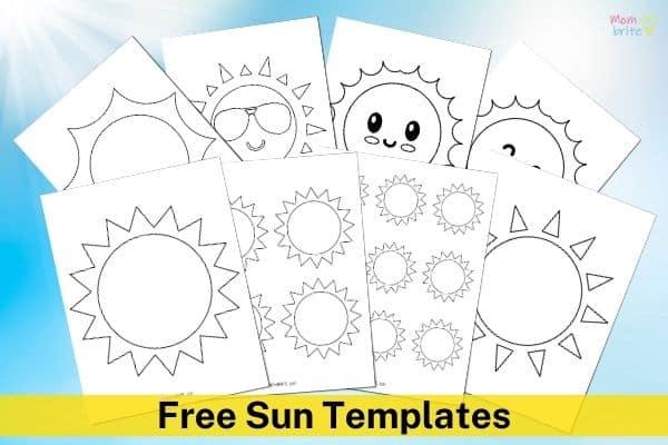 Free Sun Templates