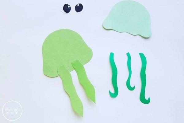 Jellyfish Craft Glue Oral Arms