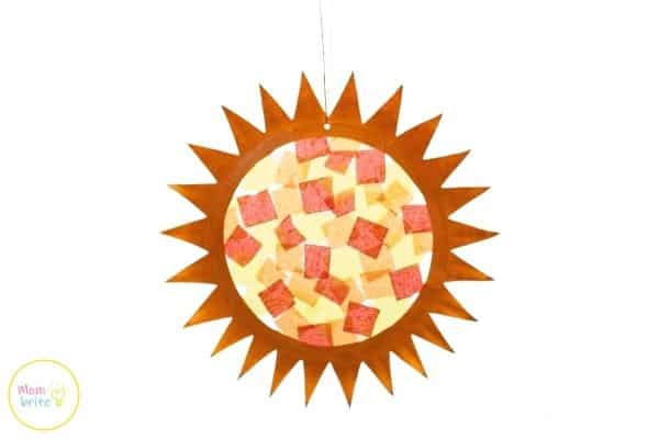 Sun Suncatcher Craft