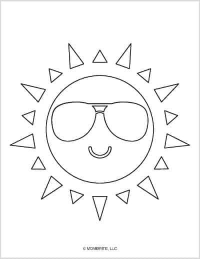 Sun Template Sunglasses