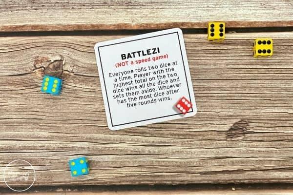 Tenzi Dice Game Battlezi