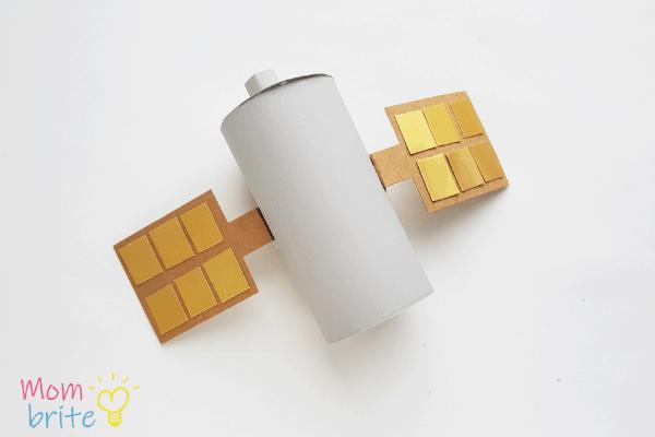 Toilet Paper Roll Satellite Craft 6