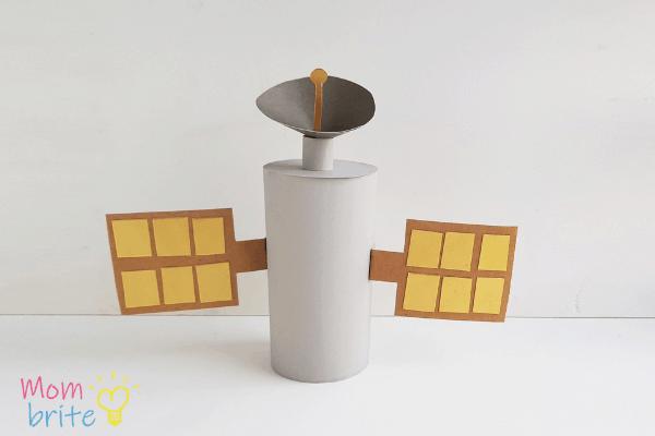Toilet Paper Roll Satellite Craft 7