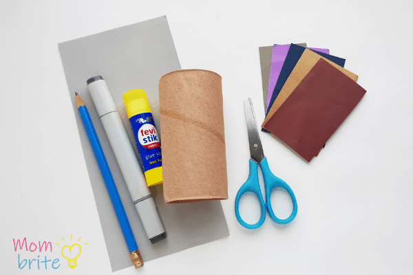 supplies needed for Toilet Paper Roll Satellite Craft