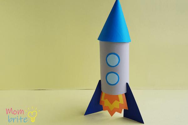 toilet paper rocket craft