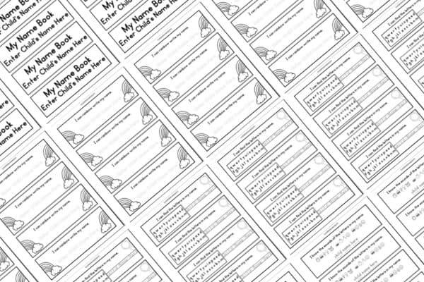 Editable Name Book Classroom Version