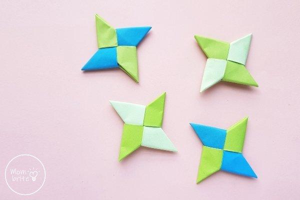 Ninja Star Origami