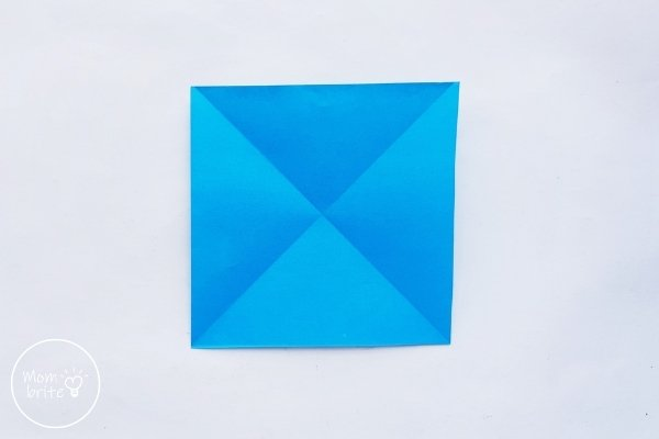 Origami Balloon Step 1