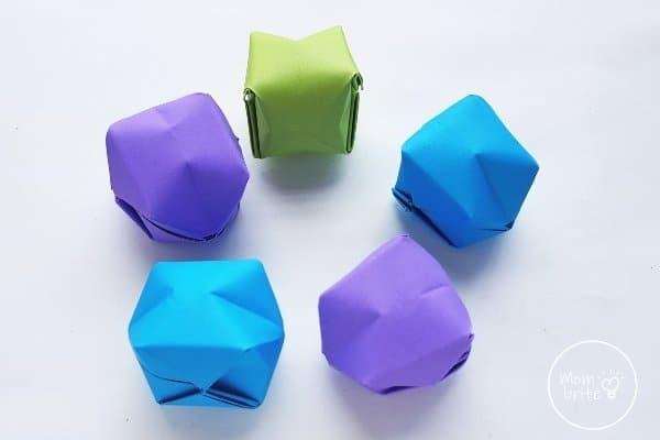 Origami Balloon Step 16