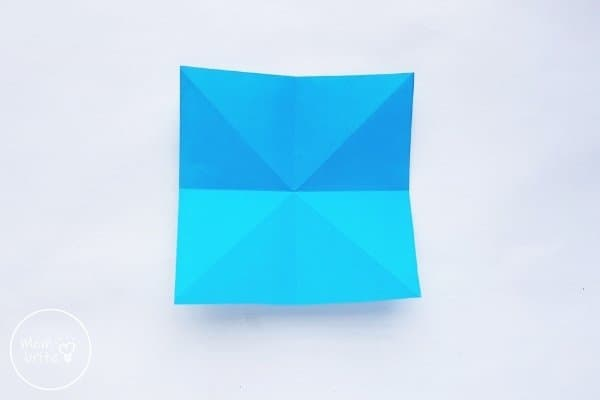 Origami Balloon Step 2