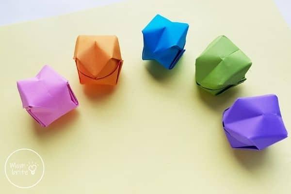 Origami Balloons