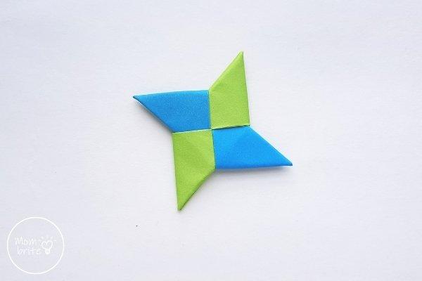 Origami Ninja Star Final Step