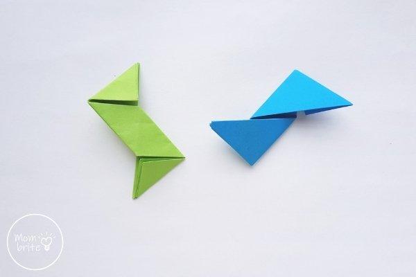 Origami Ninja Star Step 11