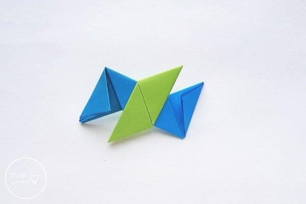 Origami Ninja Star Step 15