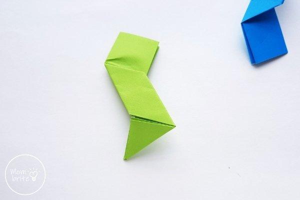 Origami Ninja Star Step 9