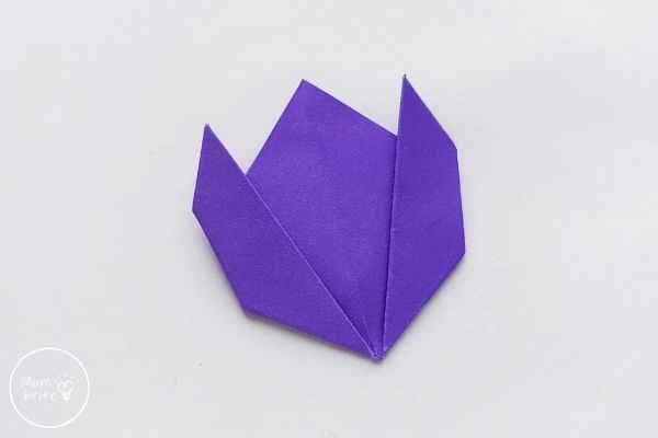 Origami Tulips Front View