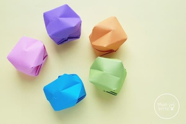 Origami Water Bombs