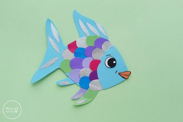 Paper Rainbow Fish Craft