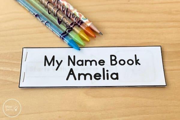 Printable Editable Name Book