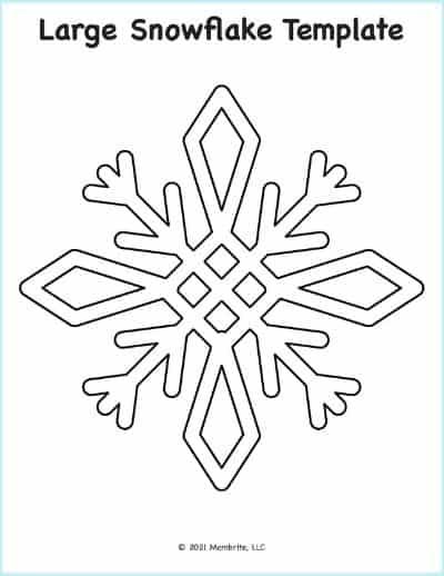 Simple Snowflake Template