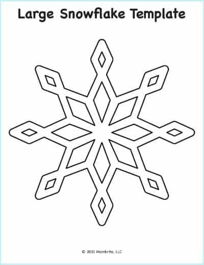 Snowflake Cut Out