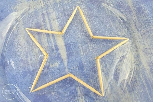 Star Water Toothpicks Trick