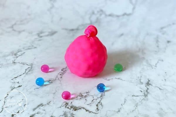 Water Bead Stress Ball for Fidgety Children