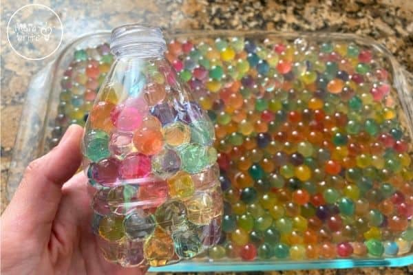Water Beads in Bottle