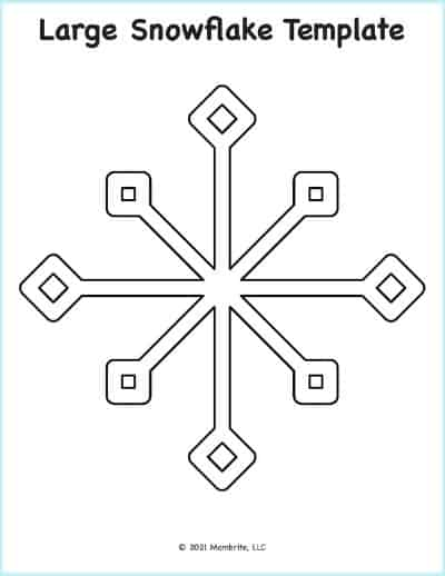 free printable snowflake patterns