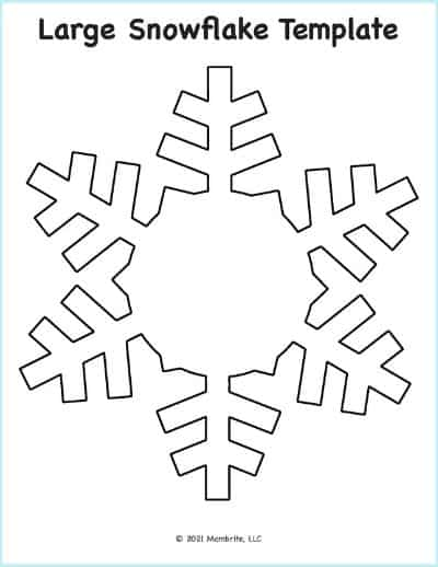 snowflakes cut out patterns