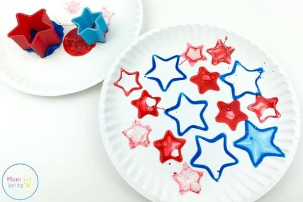 4th of July Patriotic Star Cookie Cutter Stamping Craft