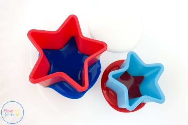 4th of July Patriotic Star Painting Dip Cookie Cutter in Paint