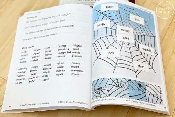 All About Reading Level 3 Activity Book Word Puzzle