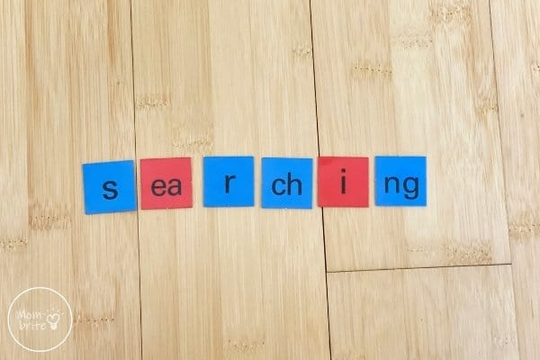 All About Reading Level 3 Letter Tiles