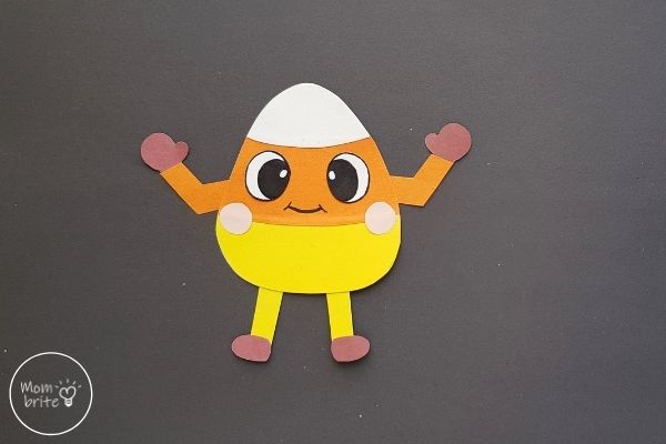 Candy Corn Man Craft for Kids