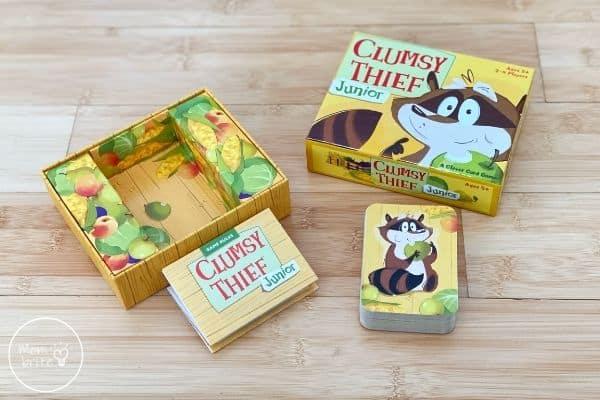 Clumsy Thief Junior Contents