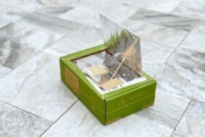 DIY Solar Oven Cooking S'mores