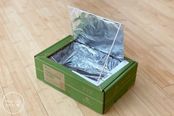 DIY Solar Oven Wooden Stick to Hold Lid Open